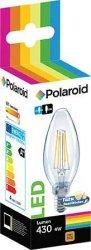Lamppu Led 4W E14 Polaroid LED filament candle, hinta 4,90€