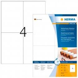 Tarra Herma 4377 säänkestävä 105x148 mm 4-os.|100ark/ltk, hinta 100€