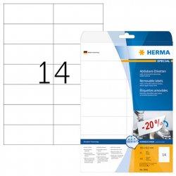 Tarra Siirrettävä Herma 5081 A4 105x42,3 14-os. 25ark/ltk, hinta 10,61€