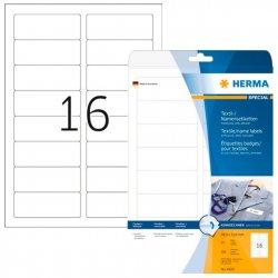 Tekstiilitarra Herma 4420 valk 88,9x33,8mm 16-os.|25ark/pak, hinta 31,25€